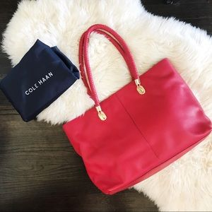 Cole Haan Red Tote